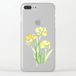 flora series iv Clear iPhone Case