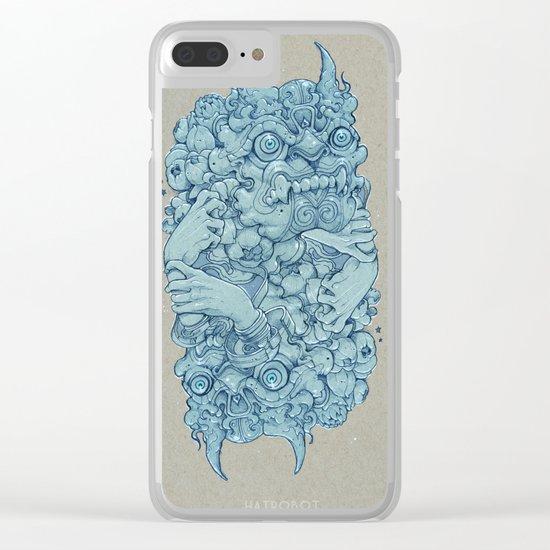 Stone guard Clear iPhone Case