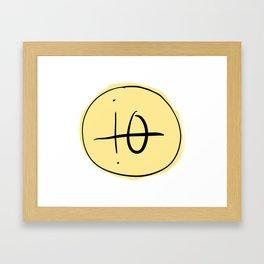 io moon Framed Art Print