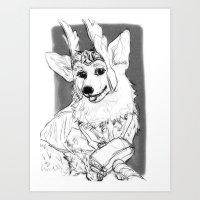 Thorgi!! Art Print