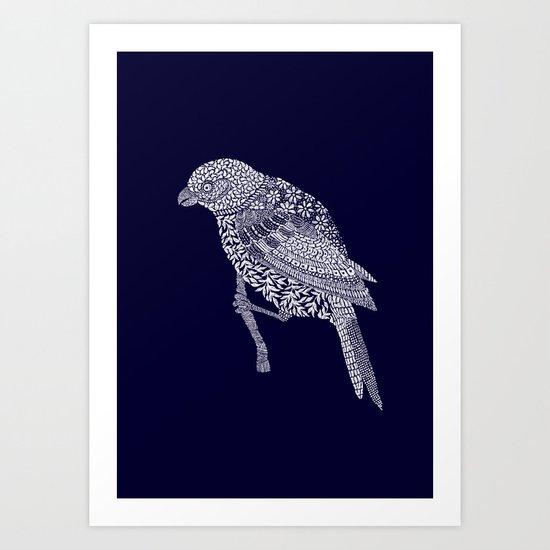 squawk 2 Art Print