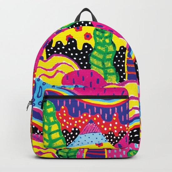 Pattern Island Backpack