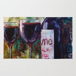 """""""Aged Wine"""" Rug"""