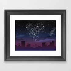 When I first saw you Framed Art Print