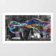 The Bubble  Art Print