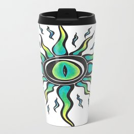 Crazy eye Travel Mug