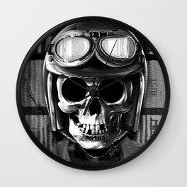 Skull graphic design Wall Clock