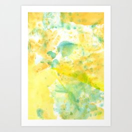 Color of the Kid Art Print