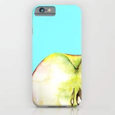 Apple on Aquamarine iPhone 6s Slim Case