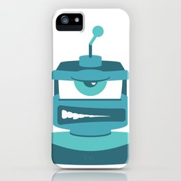 Grrr Bot iPhone Case