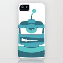 Grrr Bot iPhone Case