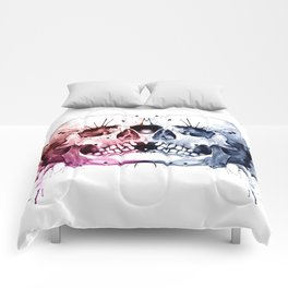 Conjoined Skull Comforters