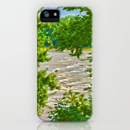 Summer on the River iPhone Case