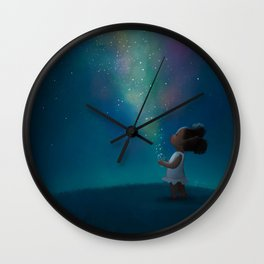 Wish Jar Wall Clock