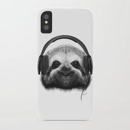 Sloth DJ iPhone Case