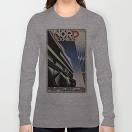 Vintage poster - Nord Express Long Sleeve T-shirt