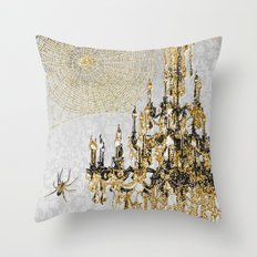 It Creeps And Crawls Throw Pillow