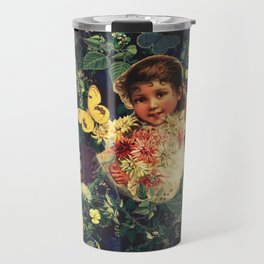 Flower Girl Travel Mug