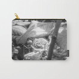 Grandmother's Roses Carry-All Pouch