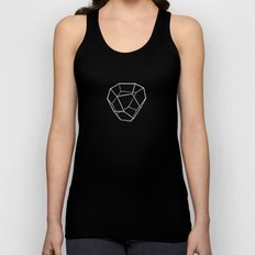 Tetrahedral Pentagonal Dodecahedron Unisex Tank Top