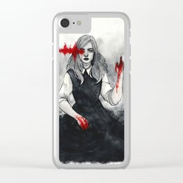 x See No Evil x Clear iPhone Case