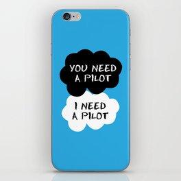 Stormpilot - I Need a Pilot iPhone Skin