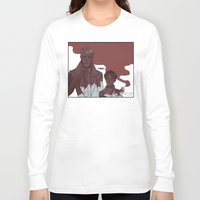 snk Long Sleeve T-shirts featuring old men by rhymewithrachel