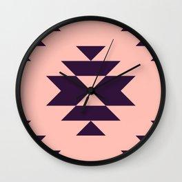 Simple Aztec Wall Clock