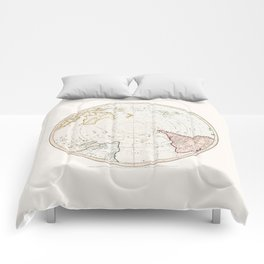 Southern Hemisphere - reproduction of William Faden's 1790 engraving Comforters