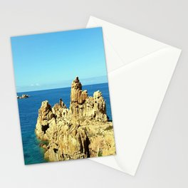 Cliffs on the Costa Paradiso Stationery Cards