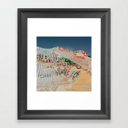 Salvation Mountain III Framed Art Print