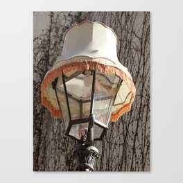 Lamp on Lamp Canvas Print