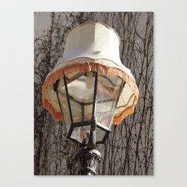 Lamp on Lamp Canvas Print