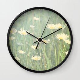 HAZY DAISIES Wall Clock