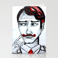 gentleman Stationery Cards featuring gentleman by sladja
