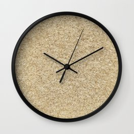 Rice. Background. Wall Clock