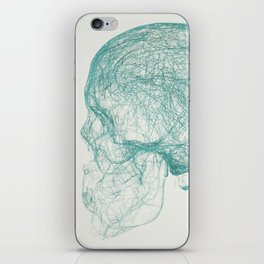 skull trails iPhone Skin
