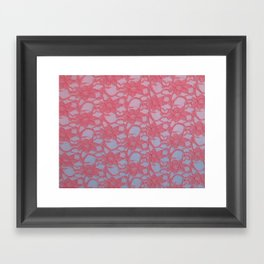 Lace Over #1 Framed Art Print