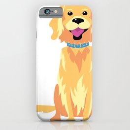 Labrador Illustration iPhone Case
