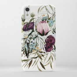 Rustic and Free Bouquet iPhone Case
