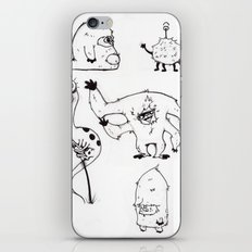 Monster Mash iPhone & iPod Skin