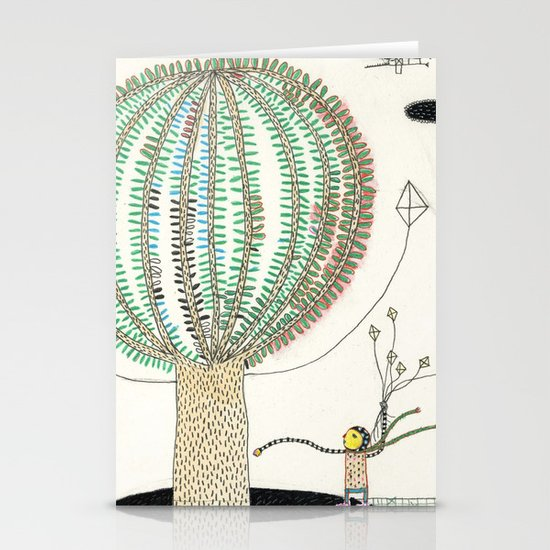 Knock Knock Knock-Tree Stationery Cards