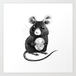 La Petite Souris Art Print