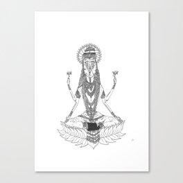 Vishnu Canvas Print