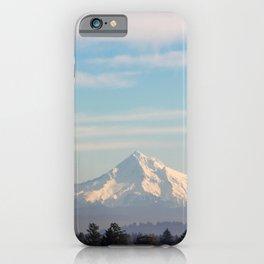 Mount Hood, Oregon iPhone Case