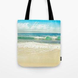 Hawaii Graphic Tropical Beach Decor Tote Bag