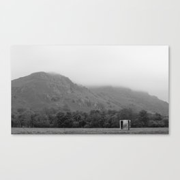 The Mirror Box and the Mountain Canvas Print