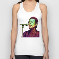 tom waits Tank Tops featuring Waits by Mark Matlock
