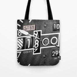 Altimeter Tote Bag