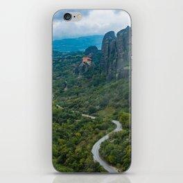 Meteora Monastery Landscape iPhone Skin